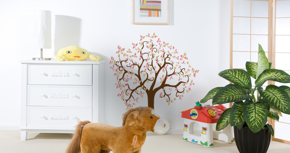 sticker arbre fantaisie couleur 2