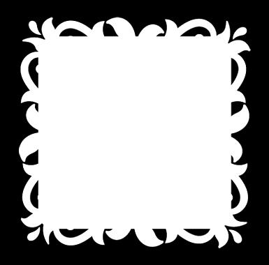 sticker Sticker Ardoise velleda baroque