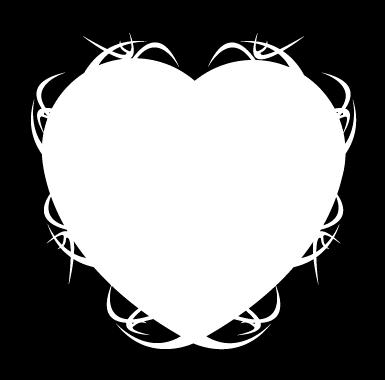 sticker Sticker Ardoise velleda coeur