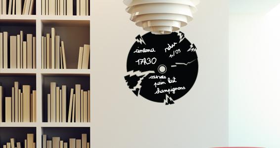 sticker Sticker Ardoise TV disque cassé
