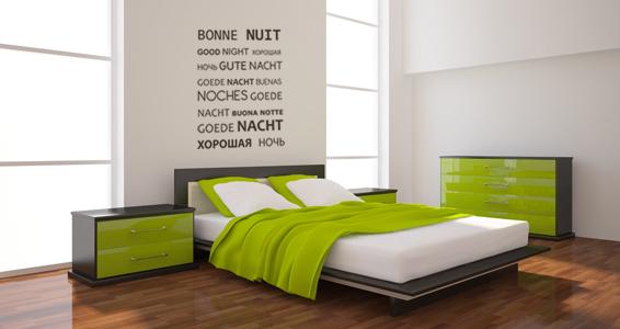 sticker Bonne nuit multilingue