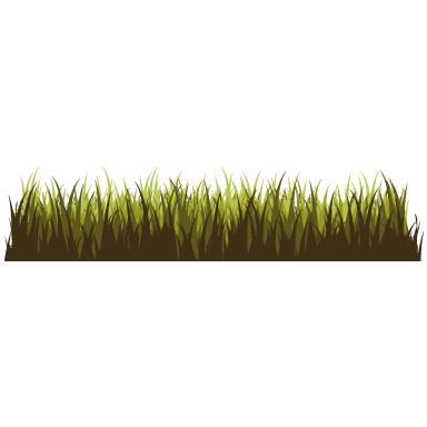 sticker Frise dans les herbes 2