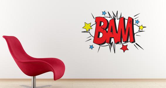 sticker Sticker BD BAM