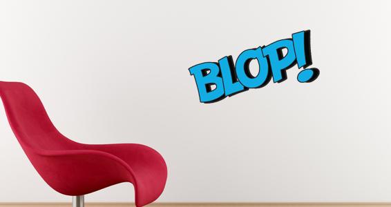 Sticker BLOP