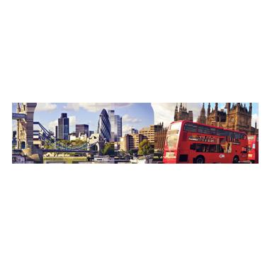 sticker texte voyage Londres