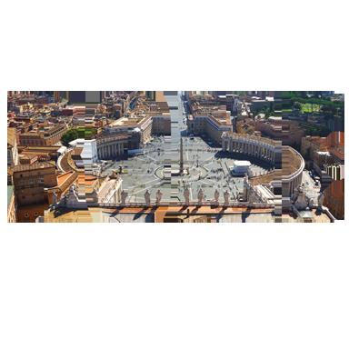 sticker texte voyage Rome