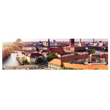sticker texte voyage Berlin
