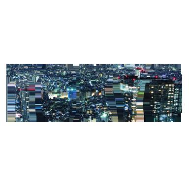 sticker texte voyage Tokyo