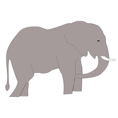 sticker léphant