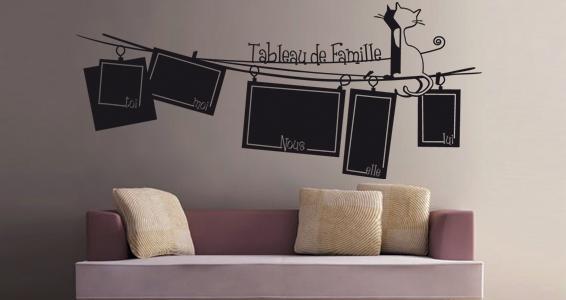 sticker Tableau de Famille by Latanaz