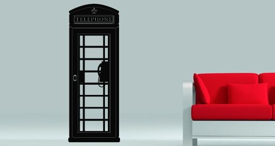 sticker Cabine téléphonique Anglaise