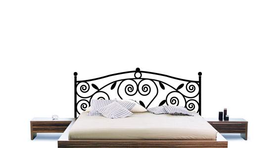 sticker Sticker Tête de lit Ornementale
