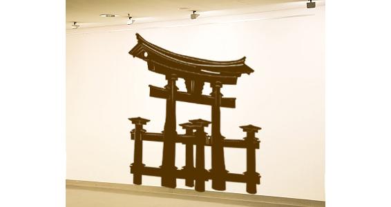 Grand torii japonais