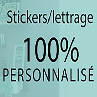 Stickers muraux sticker texte personnalis 8 sticker - Stickers muraux personnalise ...
