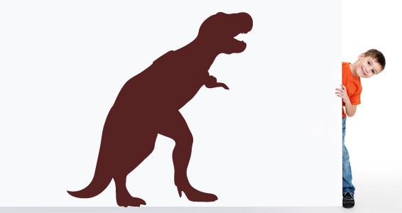 sticker Tyrannosaure