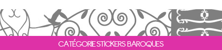 Stickers Muraux Baroque