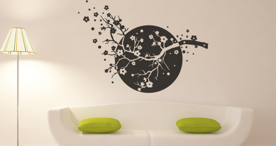 stickers muraux zen asia sticker d coration murale. Black Bedroom Furniture Sets. Home Design Ideas